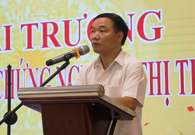 Ông Nguyễn Hữu Thập - Chủ tịch Hiệp hội Doanh nghiệp nhỏ và vừa tỉnh Tuyên Quang