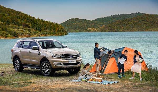 Ford Everest - chiếc SUV cho đại gia đình trải nghiệm dã ngoại trọn vẹn
