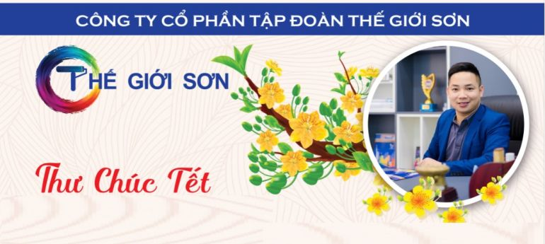 Công ty Cổ phần tập đoàn Thế Giới Sơn chúc đối tác nhân dịp năm mới Xuân Tân Sửu 2021