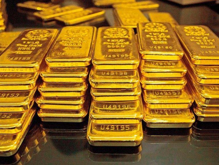 Giá vàng trên thị trường thế giới lao dốc nhanh