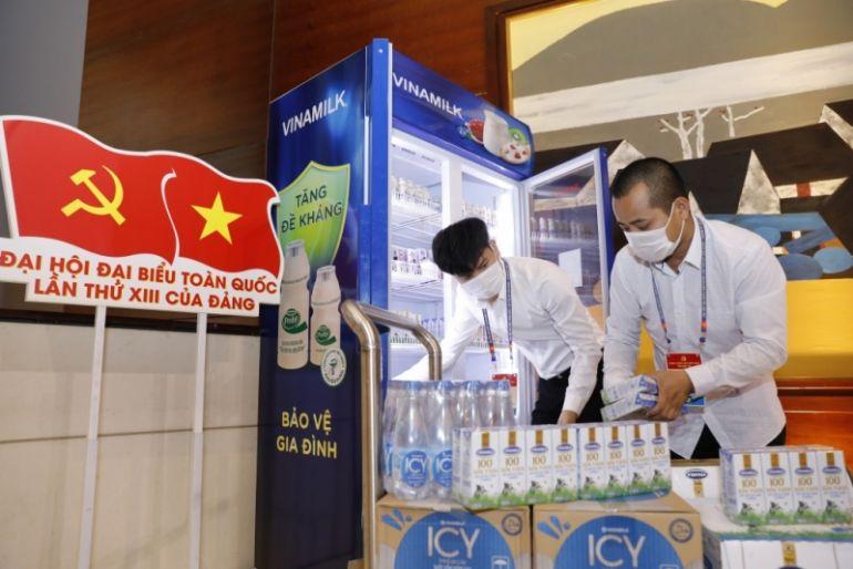 Sản phẩm Vinamilk được chọn phục vụ cho các sự kiện lớn của quốc gia trong năm 2020
