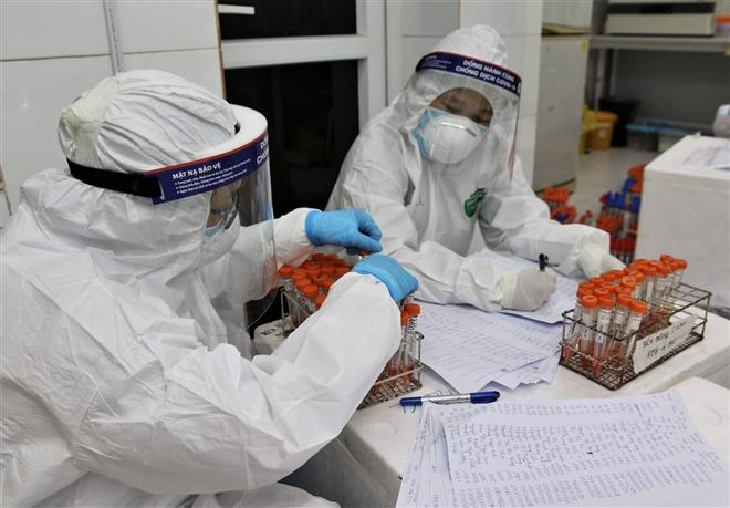 Hà Nội thêm 2 người dương tính SARS-CoV-2 ở quận Ba Đình, Nam Từ Liêm