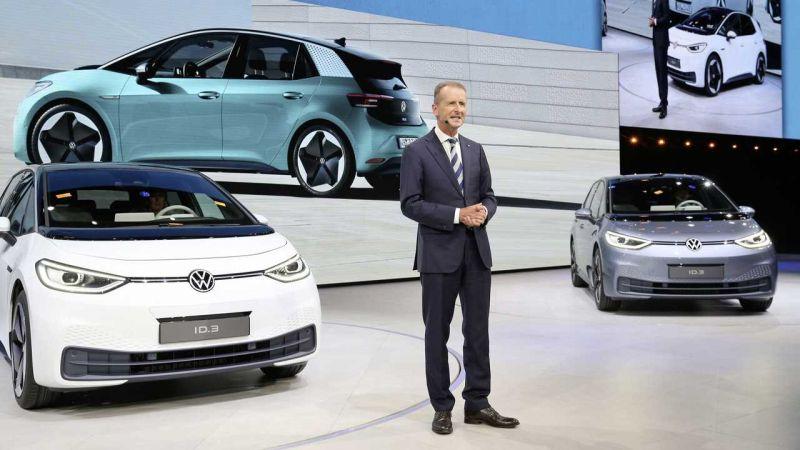 CEO Volkswagen Herbert Diess.