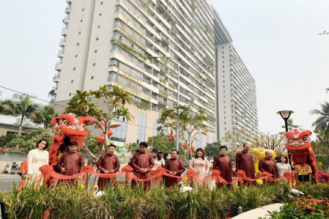"""Phúc Khang Corporation: Khánh thành """"Công viên bền vững"""" tại Diamon Lotus Riverside trong dịp Xuân Tân Sửu 2021"""