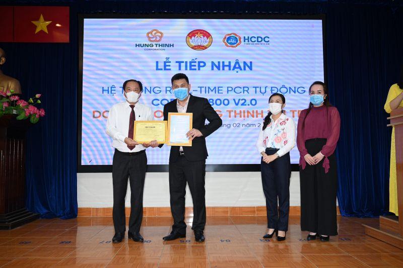 Ủy ban MTTQ Việt Nam TP.HCM và Sở Y tế TP.HCM gửi