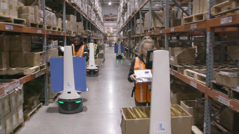 Gặp gỡ kỳ lân robot mới nhất: Locus Robotics với mức định giá 1 tỷ đô la