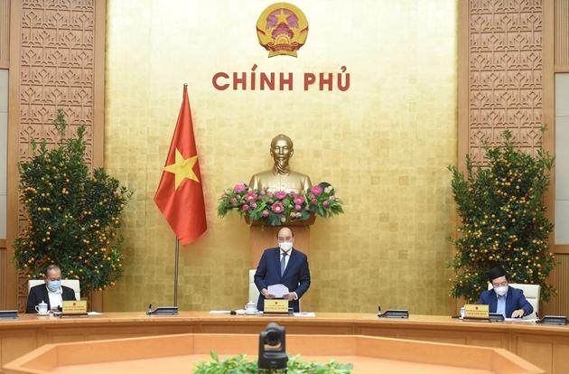 """Thủ tướng Chính phủ: Không để tình trạng """"đầu năm thong thả, cuối năm vất vả"""""""