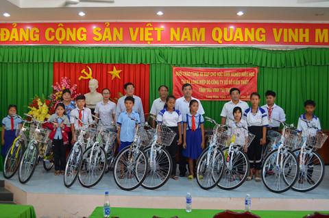 Công ty Xổ số kiến thiêt Trà Vinh: Góp nguồn lực quan trọng để phát triển vùng quê nghèo