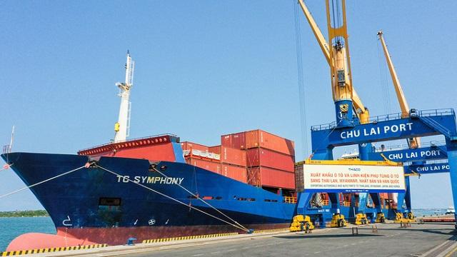 Thaco xuất khẩu hơn 200 ô tô và linh kiện phụ tùng sang các thị trường Thái Lan, Myanmar, Nhật Bản và Hàn Quốc