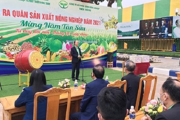 Buổi lễ ra quân sản xuất của Công ty CP Công Nông nghiệp Tiến Nông
