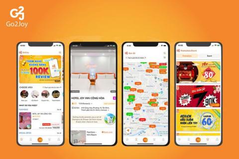 Startup Go2Joy - ứng dụng đặt phòng theo giờ liên tiếp gọi được hàng triệu USD vốn đầu tư