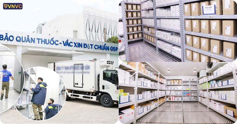 Việt Nam chuẩn bị đủ kho siêu lạnh để nhập vaccine Covid-19