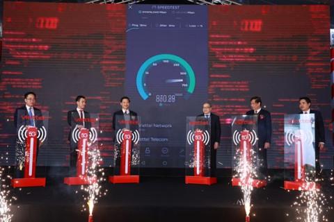 Yên Phong, Bắc Ninh: Khu Công nghiệp đầu tiên trên cả nước được phủ sóng 5G