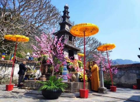 Quảng Ninh: Nghi lễ khai hội xuân Yên Tử năm 2021 trong mùa dịch Covid-19