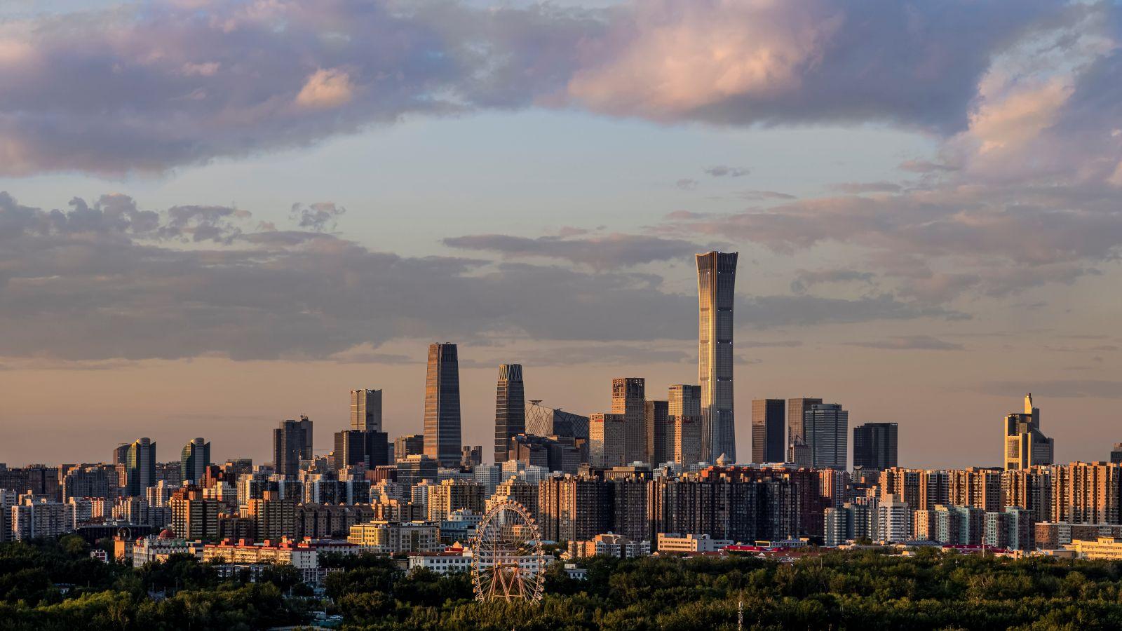 Khu trung tâm thương mại ở Bắc Kinh