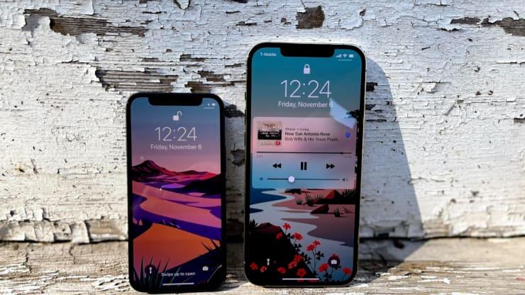 iPhone12 Mini và iPhone 12 Promax