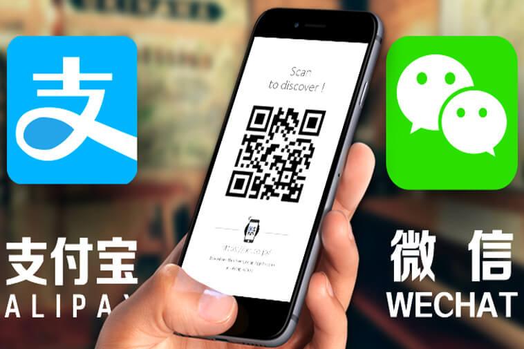 WeChat và Alipay là những nền tảng thanh toán có hiệu suất cao đến mức ngay cả những người bán hàng và người lao động ở nông thôn cũng có thể quét mã QR được cá nhân hóa.