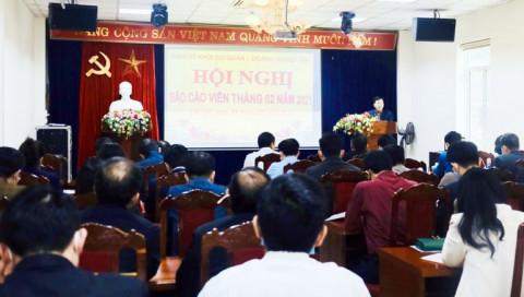 Lào Cai: Đảng ủy Khối Cơ quan – Doanh nghiệp tỉnh họp định hướng công tác tuyên truyền