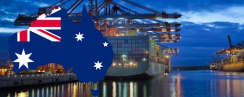 Tháng 1 xuất khẩu sang Úc tăng 62,08 %