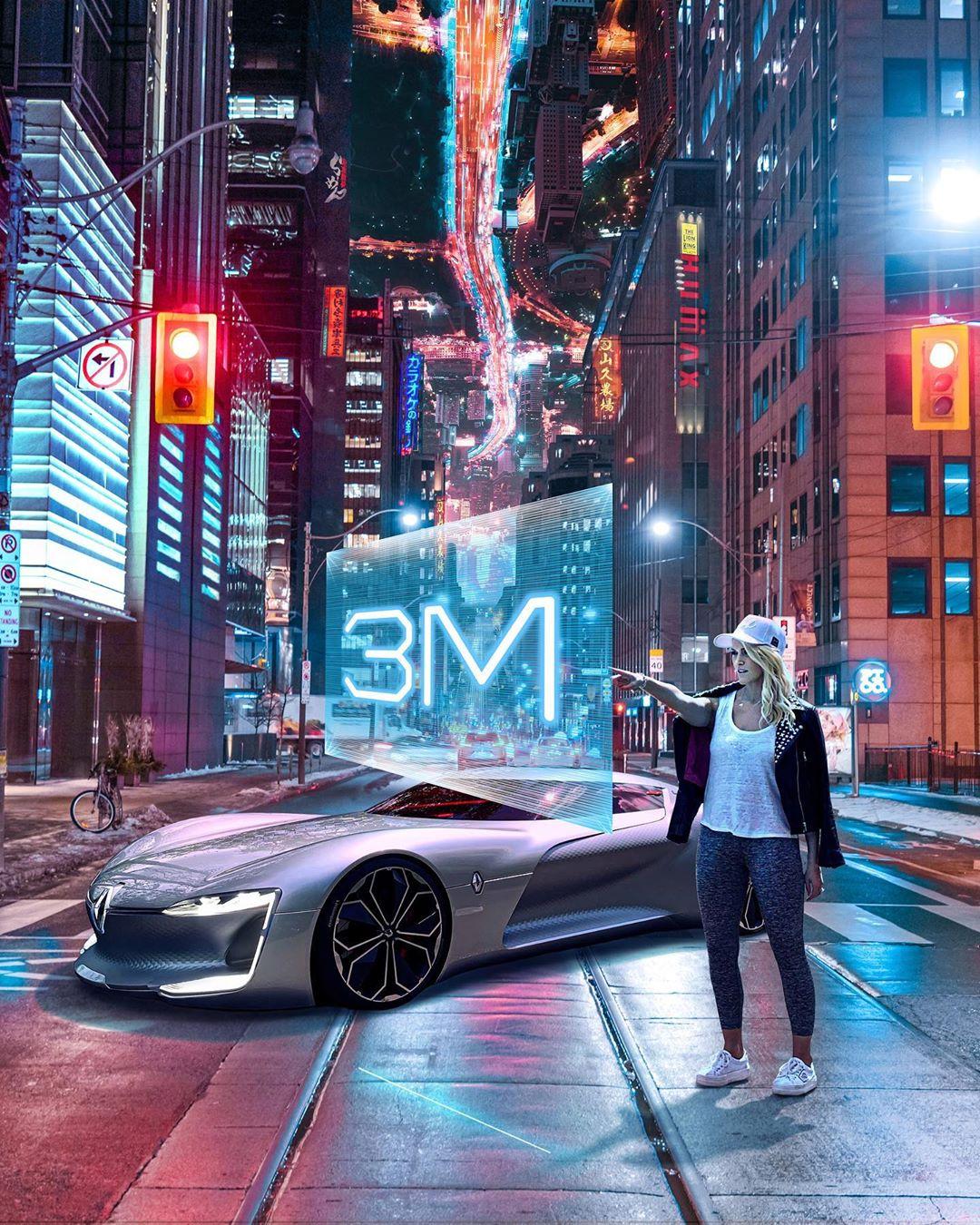 """Renault TREZOR – chiếc siêu xe hơi đã khiến Supercar Blondie thốt lên là """"chiếc xe đẹp nhất thế giới"""". Chiếc siêu xe hơi này có thể tăng vận tốc từ 0 lên đến 100km/h chỉ trong vòng 4 giây. Ảnh: @supercarblondie"""
