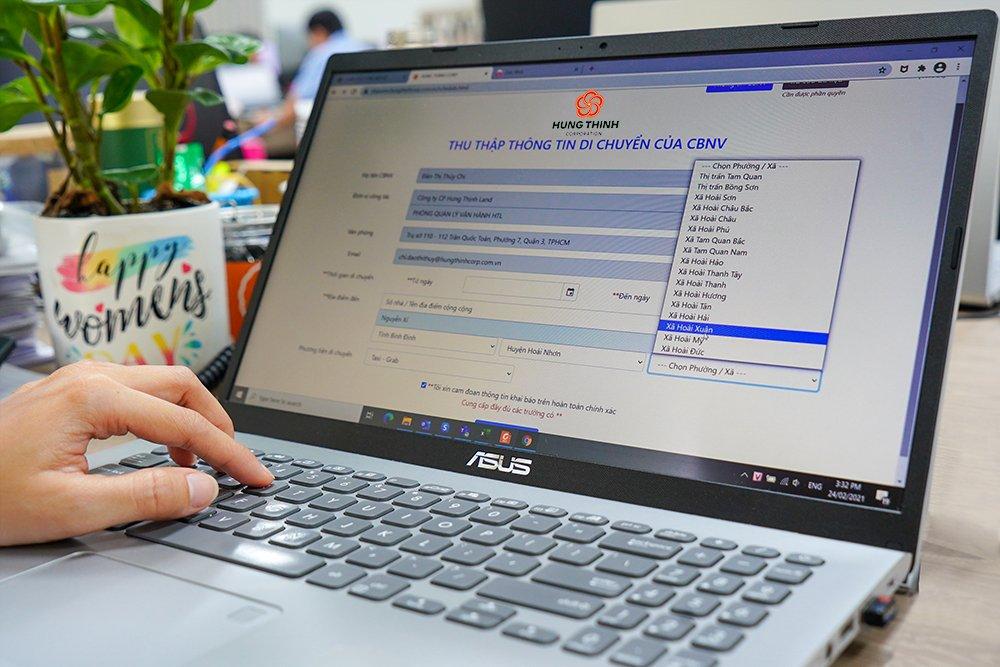 CBNV Hưng Thịnh nghiêm túc cập nhật lịch trình di chuyển dịp Tết