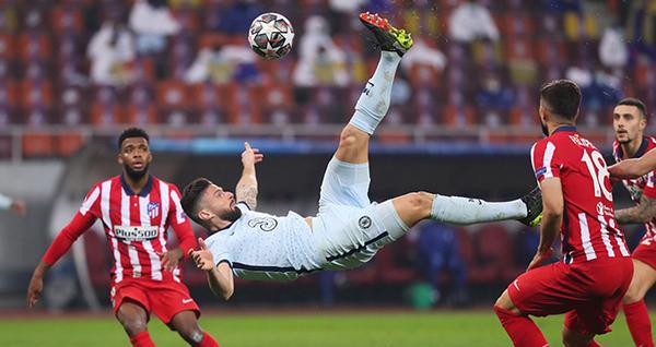 Atletico 0-1 Chelsea: Chelsea giành lợi thế trong cuộc đua giành vé vào tứ kết Champions League