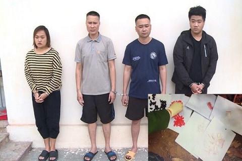 Hà Trung (Thanh Hóa):Công an huyện triệt phá thành công điểm ma túy phức tạp