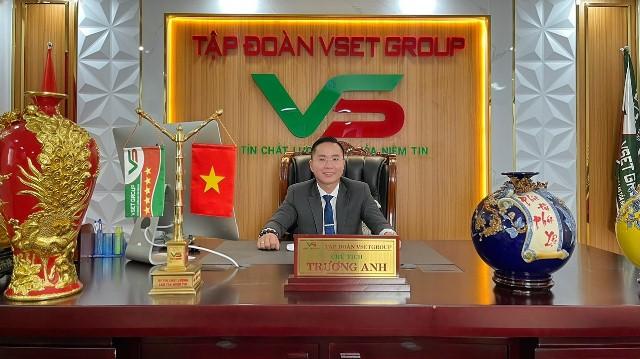 Chủ tịch VsetGroup - ông Trương Anh chia sẻ