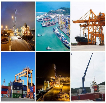 Hàng hóa qua cảng biển tăng mạnh kể từ thời điểm dịch Covid-19 bùng phát