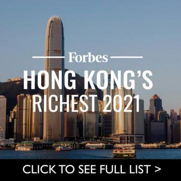 Bảng xếp hạnh top 10 doanh nhân giàu nhất Hồng Kông 2021