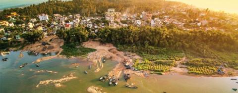 Khu du lịch sinh thái Thạch Bích, tỉnh Quảng Ngãi quy hoạch trên diện tích 200ha với tỷ lệ 1/2000