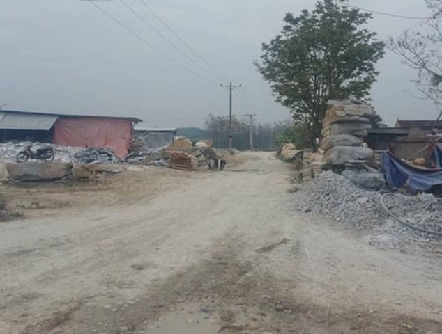 Nghệ An: Yêu cầu các doanh nghiệp có cơ sở chế biến đá tại CCN Đồng Lèn – Đồng Bảng xử lý ô nhiễm môi trường