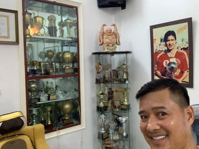 Sự nghiệp của Hồng Sơn gắn liền với CLB Thể Công cùng hàng chục danh hiệu cá nhân, tập thể lớn, nhỏ (Ảnh: FBNV - Quang Minh)