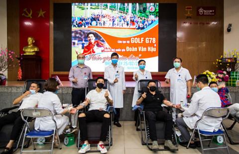 """Cầu thủ Đoàn Văn Hậu: """"Chia sẻ những giọt máu để giúp đỡ những người đang cần"""""""