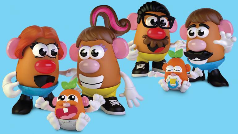 """Tái định vị thương hiệu: Mr.Potato Head không còn là """"Mr"""""""