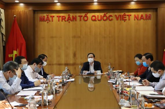 MTTQ Việt Nam: chủ động lựa chọn hình thức tổ chức hội nghị phù hợp thông qua ứng dụng công nghệ thông tin.