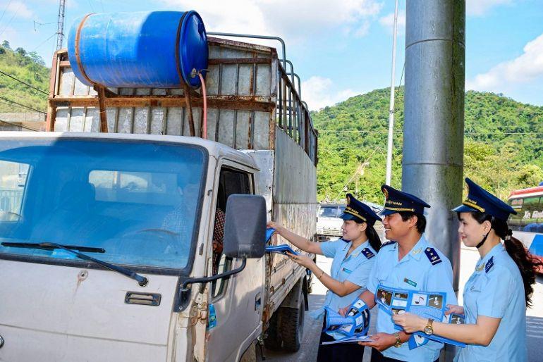 Hà Tĩnh: Hải quan Cầu Treo thu ngân sách hai tháng đầu năm tăng mạnh