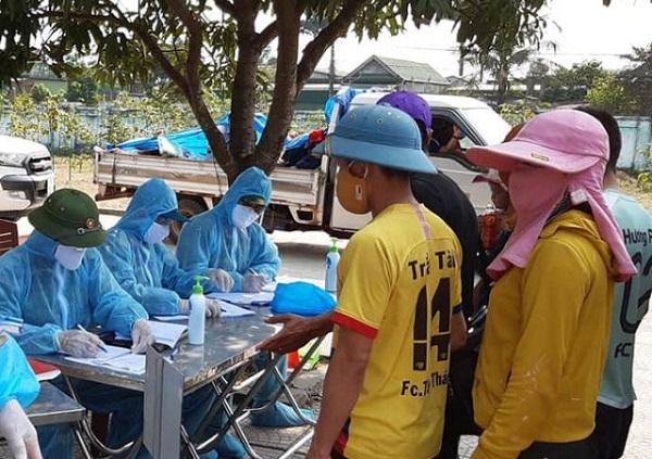 Nghệ An: Khai báo y tế gian dối, 1 phụ nữ trở về từ Hải Dương bị xử phạt 15 triệu đồng