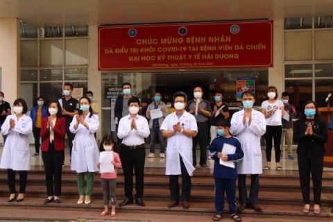 Ngày Thầy thuốc Việt Nam: Dồn dập tin vui đến từ những vùng dịch Covid-19