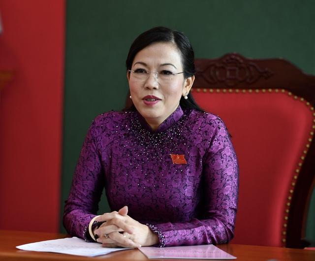 Bà Nguyễn Thanh Hải - Bí thư Tỉnh ủy
