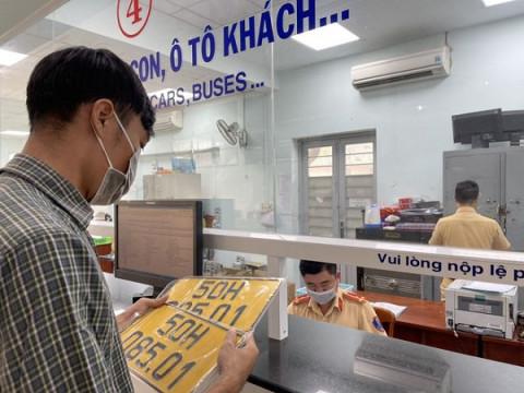 Những lưu ý dành cho doanh nghiệp vận tải đổi biển số xe tại TP. Hồ Chí Minh