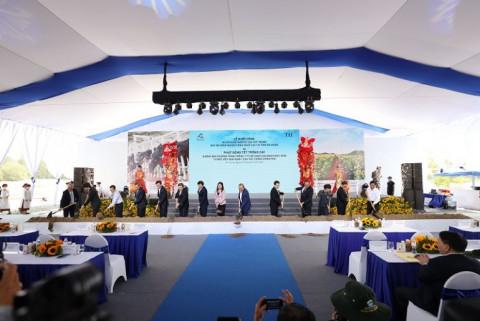 TH khởi công Dự án Chăn nuôi bò sữa công nghệ cao tại An Giang