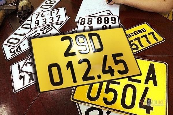 Theo Cục Cảnh sát Giao thông, số xe ô tô phải đổi từ biển trắng sang biển vàng ước có tới 2 triệu chiếc