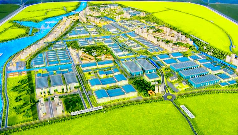 Khu công nghiệp, đô thị, dịch vụ Liên Hà Thái (Thái Bình) được đầu tư với quy mô lớn nhất từ trước đến nay