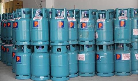 Giá gas tiếp tục tăng lên 423.000 đồng/bình 12 kg