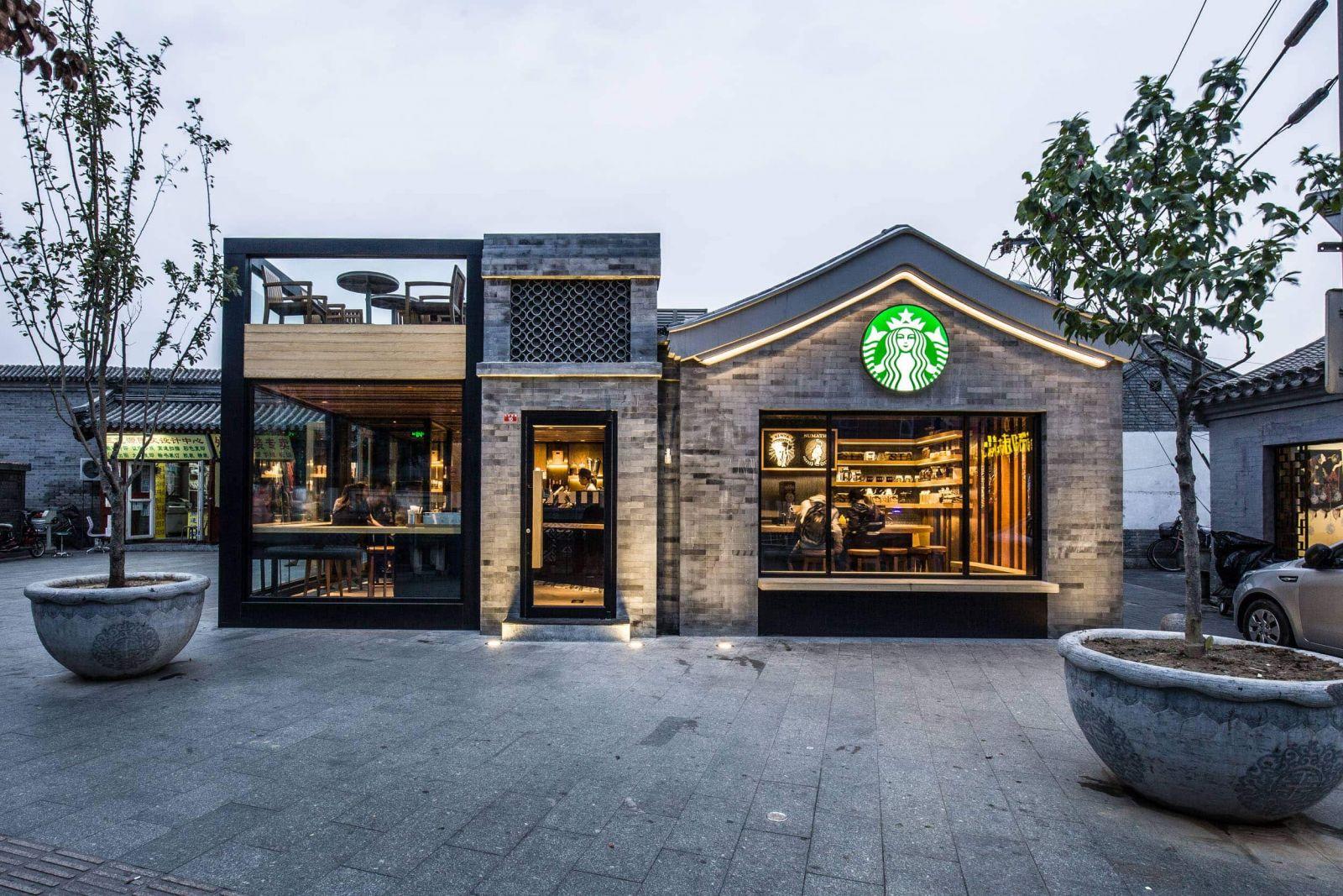 Một cửa hàng Starbucks tại Trung Quốc