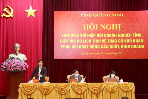 Quảng Ninh tháo gỡ khó khăn, phục hồi hoạt động sản xuất kinh doanh cho doanh nghiệp