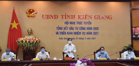Kiên Giang: Phấn đấu giải ngân đạt 100% kế hoạch vốn đầu tư ngân sách nhà nước năm 2021