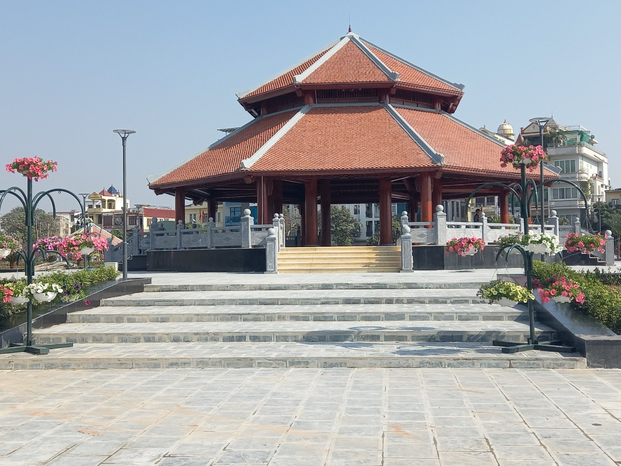 Công viên hiện đại Máy Tơ quận Ngô Quyền vừa khánh thành sau 90 ngày, phục vụ nhân dân dịp Tết Sửu
