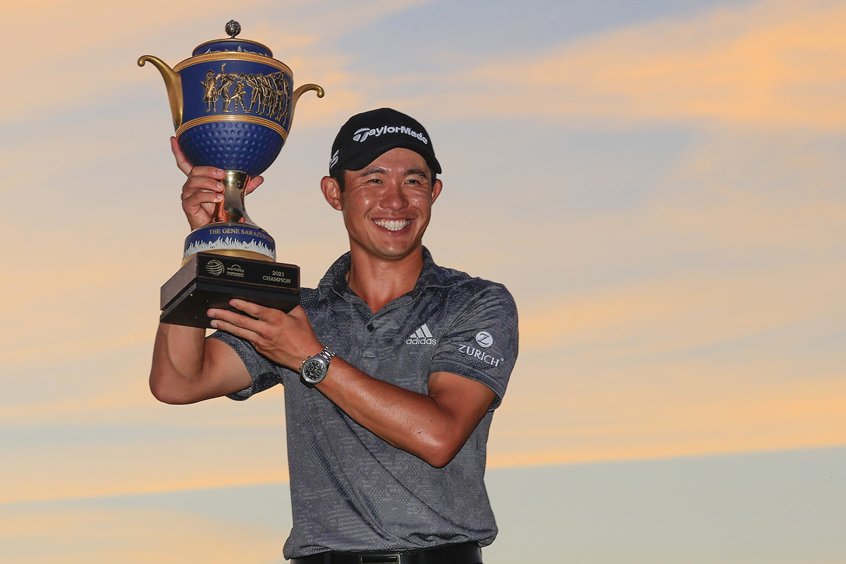 Collin Morikawa đăng quang WGC-Workday Championship